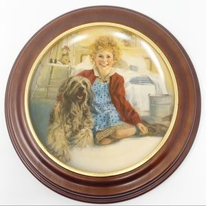 Annie And Sandy Limited Edition Knowles Plate